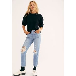 LEVI'S 501 Crop Jeans Montgomery Baked